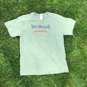Vintage New Orleans French Quarter Embroidered Tee